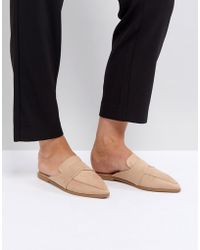 ASOS - Mouse Pointed Mules - Lyst