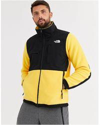 The North Face Желтая Куртка Denali-желтый