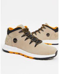 Timberland - Бежевые Ботинки Euro Sprint Trekker-бежевый - Lyst