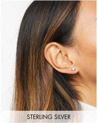 Ted Baker Sinaa - Boucles d'oreilles avec cristaux Swarovski - Métallisé