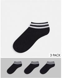 French Connection Confezione da 3 paia di calzini - Nero