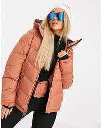 Columbia Розовая Теплая Куртка Abbott Peak-розовый