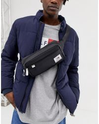 e3bc69d1fb Tommy Hilfiger - Bumbag With Logo Detail And Contrast Trims In Black - Lyst