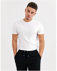 Only & Sons Muscle Fit T-shirt - White