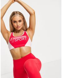 Lorna Jane Medium Support Sports Bra - Red