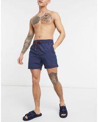 DKNY Barbados Swim Shorts - Blue