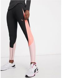 PUMA - Training Pearl Mesh leggings - Lyst