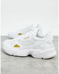 adidas Белые Кроссовки Falcon-белый