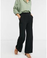 Vero Moda Pantalon large - Noir