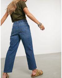 Free People Chloe - Mom jeans - Blu