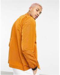 Marshall Artist Рыжая Куртка Из Рипстопа С Эффектом Мокрой Ткани -красный