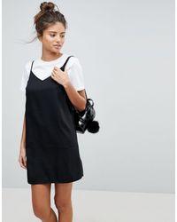 ASOS - Vestido camisola corto - Lyst