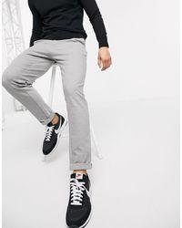 Tom Tailor – Elegante Chinohose - Grau