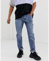 Cheap Monday Audiac Tapered Jeans - Blue