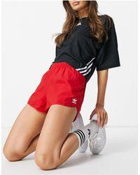 adidas Originals Adicolor Logo Shorts - Red