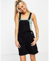 ONLY Dungaree Playsuit - Black