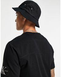 Calvin Klein Черная Джинсовая Панама С Нашивкой Логотипа Calvin Klein-черный Цвет