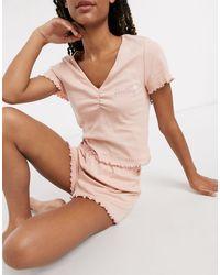 TOPSHOP Darling - Pyjamaset - Roze