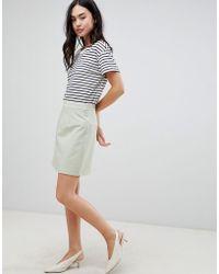ASOS - Tailored A-line Mini Skirt - Lyst