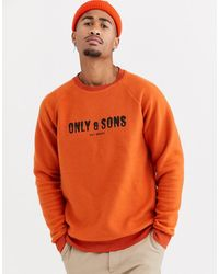 Only & Sons Sweater - Oranje