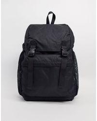 TOPMAN Utility Backpack - Black