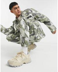 Sixth June - Pantalon cargo - Camouflage (ensemble) - Lyst