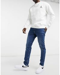 Only & Sons – Enge Jeans - Blau