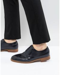 Call It Spring | Uniessi Brogue Shoes In Navy | Lyst