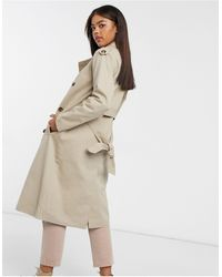 Object Shyla Trench Coat - Natural