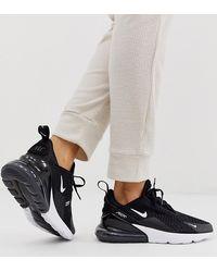 Nike W Air Max 270 Black/ Anthracite-White - Noir