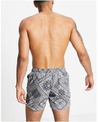 Pull&Bear Swim Shorts - Black