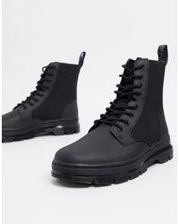 Dr. Martens Черные Ботинки Coombs Ii-черный Цвет