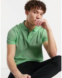 Tommy Hilfiger Рубашка-поло Узкого Кроя -зеленый Цвет
