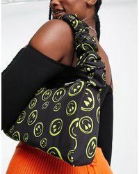 ASOS Shoulder Bag With Ruched Strap - Multicolour