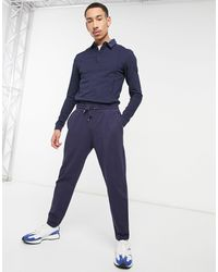 ASOS Co-ord Tapered sweatpants - Blue