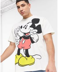 Levi's - X Disney Large Mickey Mouse Graphic T-shirt - Lyst