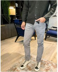 Levi's 511 - Pantaloni slim grigio acciaio