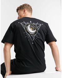 Only & Sons - T-shirt oversize con stampa mistica sul retro, colore nero - Lyst