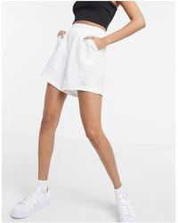 adidas Originals - Белые Сетчатые Шорты -белый - Lyst