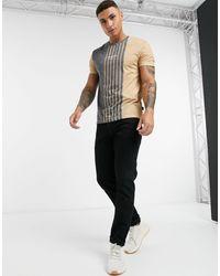 Burton T-shirt With Vertical Stripe - Multicolour