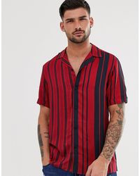 Burton Shirt With Splicing - Red
