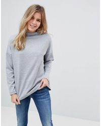 B.Young - Slash Neck Sweater - Lyst