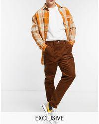 Reclaimed (vintage) Inspired - Pantaloni - Marrone