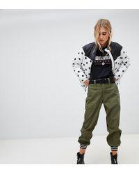 Reclaimed (vintage) - Pantalon de jogging style cargo avec ourlets lisers - Lyst