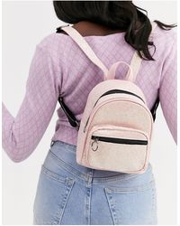 Skinnydip London Mini Sequin Backpack - Pink