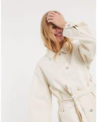 Weekday - Светло-бежевая Куртка -кремовый - Lyst