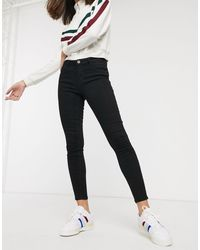 ONLY Daisy Mid Rise Skinny Jeans - Black