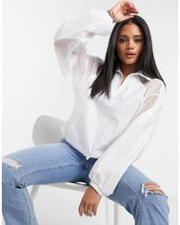 adidas Originals Белый Сетчатый Пуловер Fakten