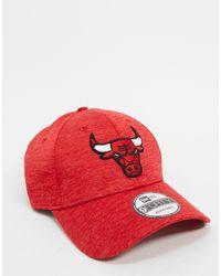 KTZ 9forty Chicago Bulls - Casquette - Rouge