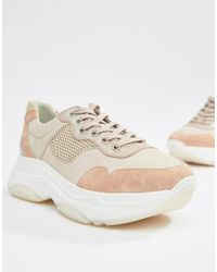 Dune - Escape Chunky Sole Sneakers - Lyst